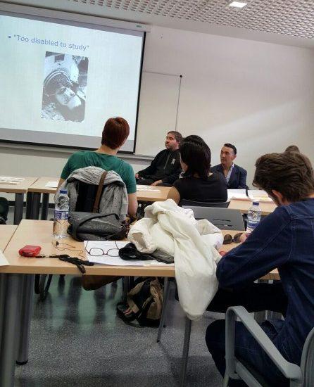 """Participación en el programa """"User Driven"""",  en el Instituto Polibienestar de la Universitat de València."""