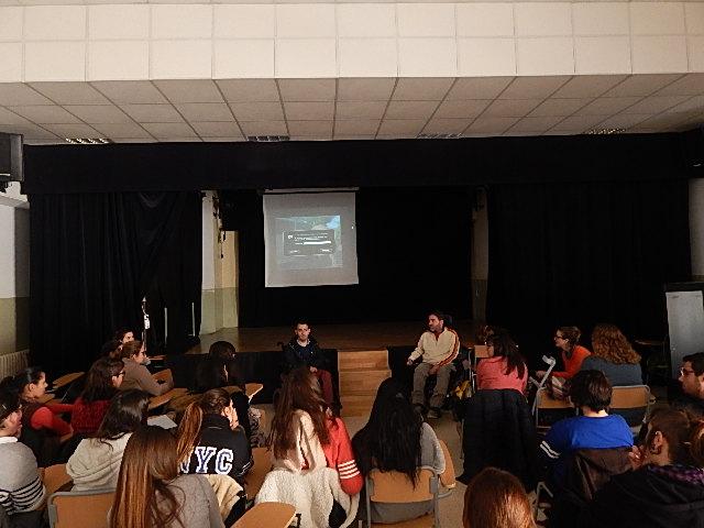Charla – Conferencia en el IES Sant Jordi